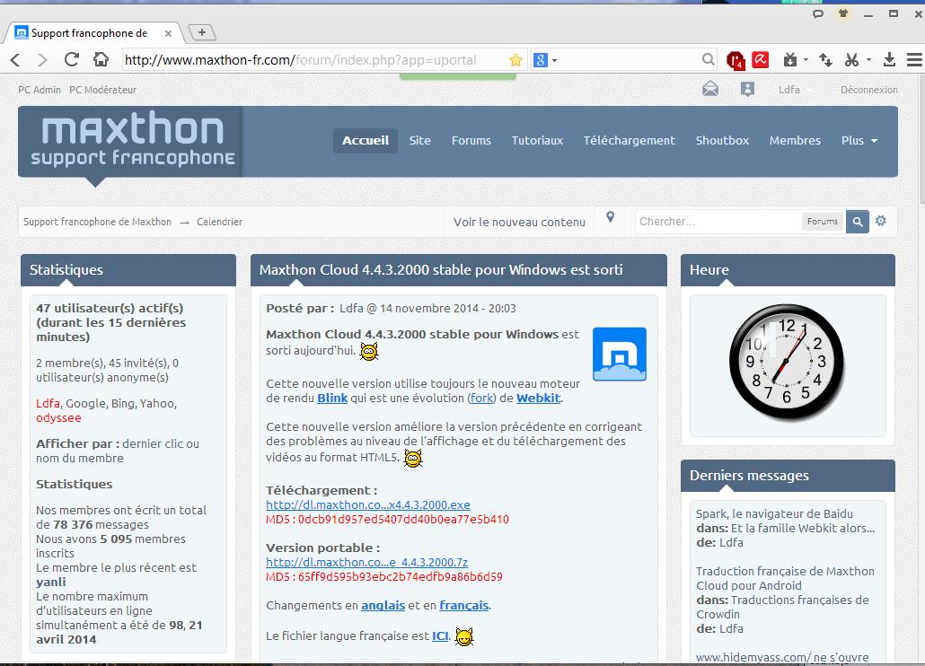 navigateur spark browser