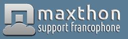 Support francophone de Maxthon